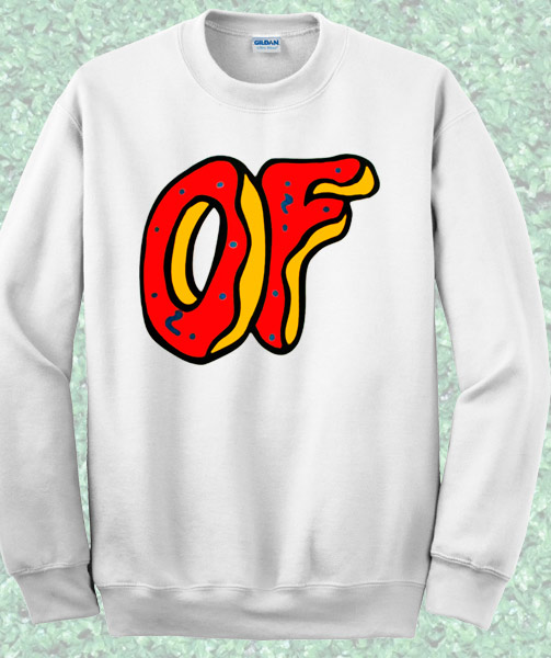 4c0c293b602980 Odd Future Donut Symbol Sweatshirt – Mpcteehouse  80s Tees
