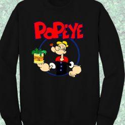 Popeye Spinach Sweatshirt