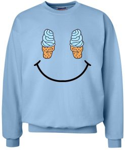 Smile Ice Cream Sweatshirt