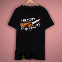 Thrasher Scarred For Life T Shirt