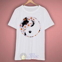 Yin Yang Floral T Shirt