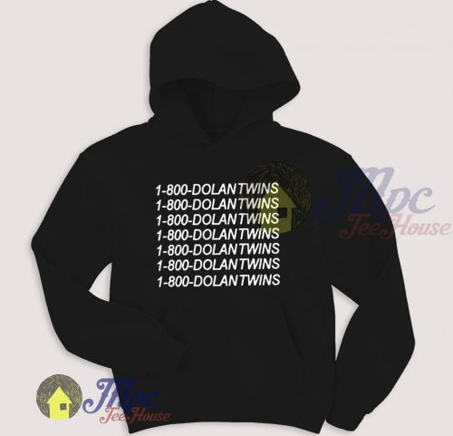 1-800-Dolantwins Call Number Pullover Hoodie