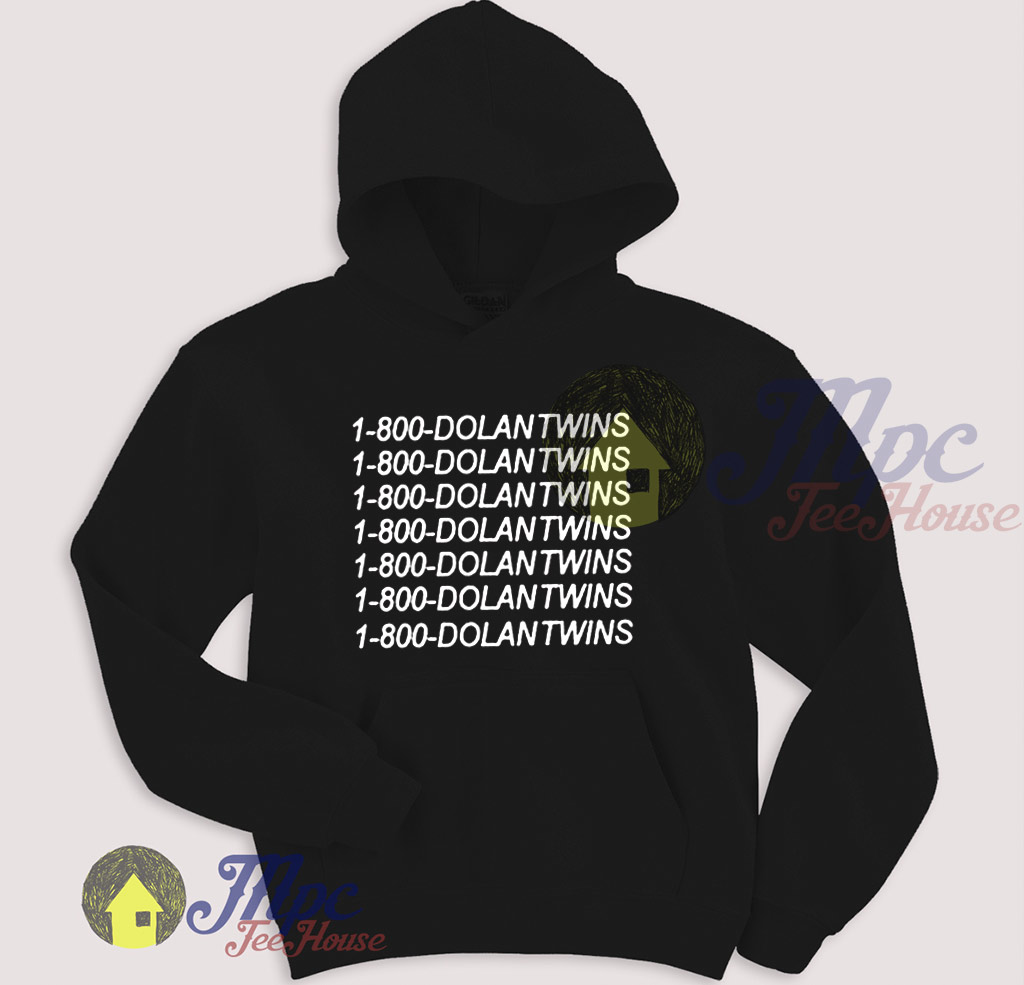 52fce2969 1-800-Dolantwins Call Number Pullover Hoodie - Mpcteehouse