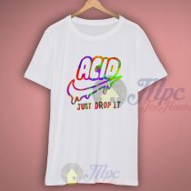 Acid Just Drop It Tie Dye T Shirt