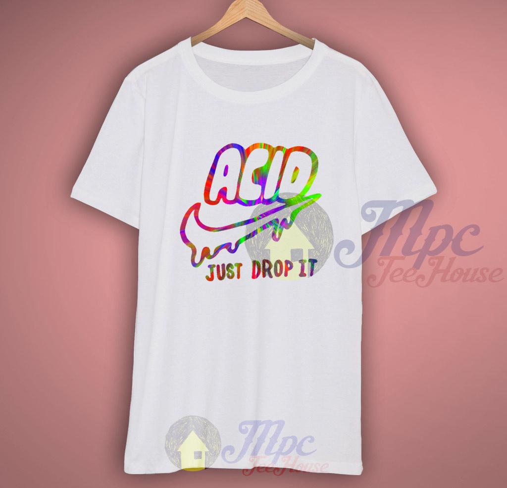 Acid Just Drop It Tie Dye T Shirt