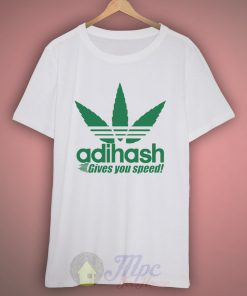 Adihash Rastafarian Gives You Speed T Shirt
