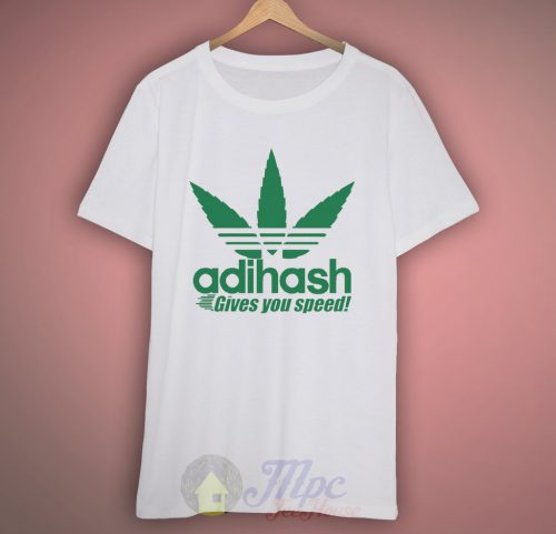 Adihash Rastafarian Gives You Speed T Shirt