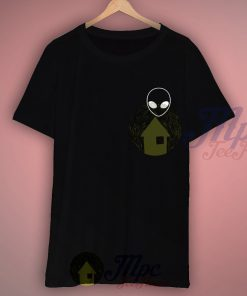 Alien Black T Shirt