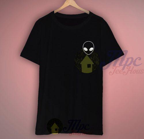 Alien Black T Shirt