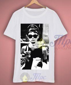 Audrey Hepburn Sunglasses Breakfast at Tiffany T Shirt