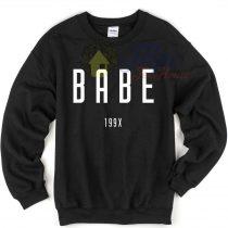 Babe 199x Unisex Crewneck Sweatshirt
