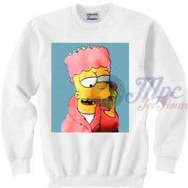 Bart Classic Cartoon Movie Sweatshirt