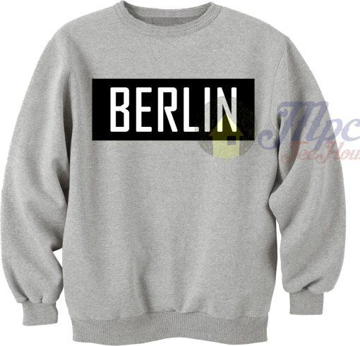 Berlin Unisex Crewneck Sweatshirt
