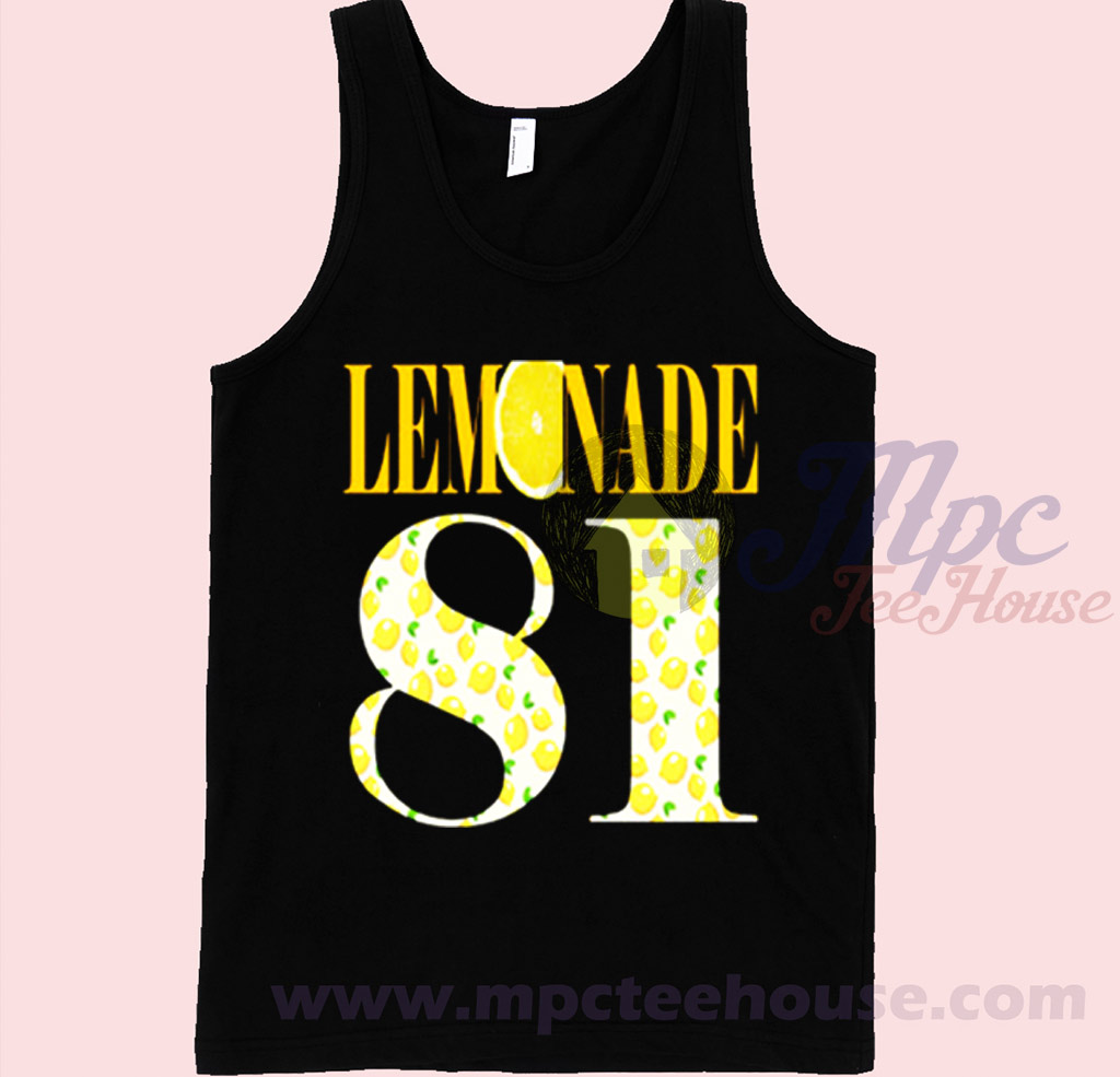 Beyonce Lemonade 81 Tank Top