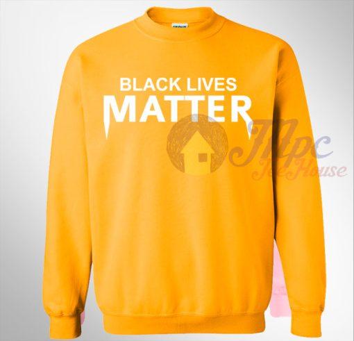 Black Lives Matter Yellow Sweatshirt