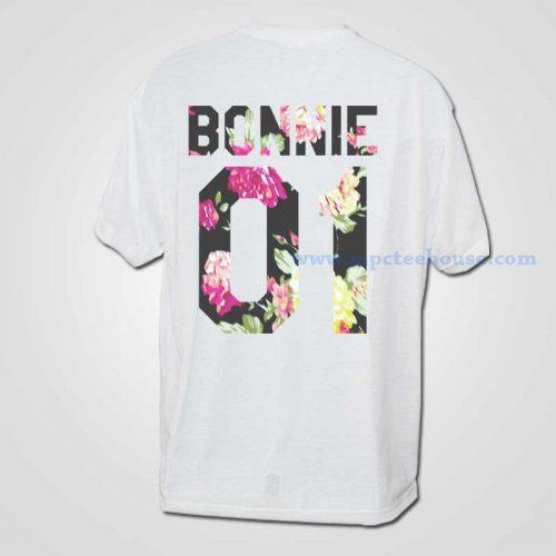 Bonnie Vintage Floral 01 T Shirt