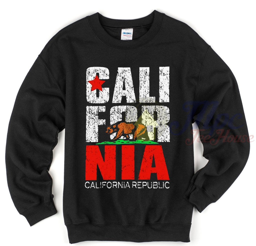 California Republic Crewneck Sweatshirt