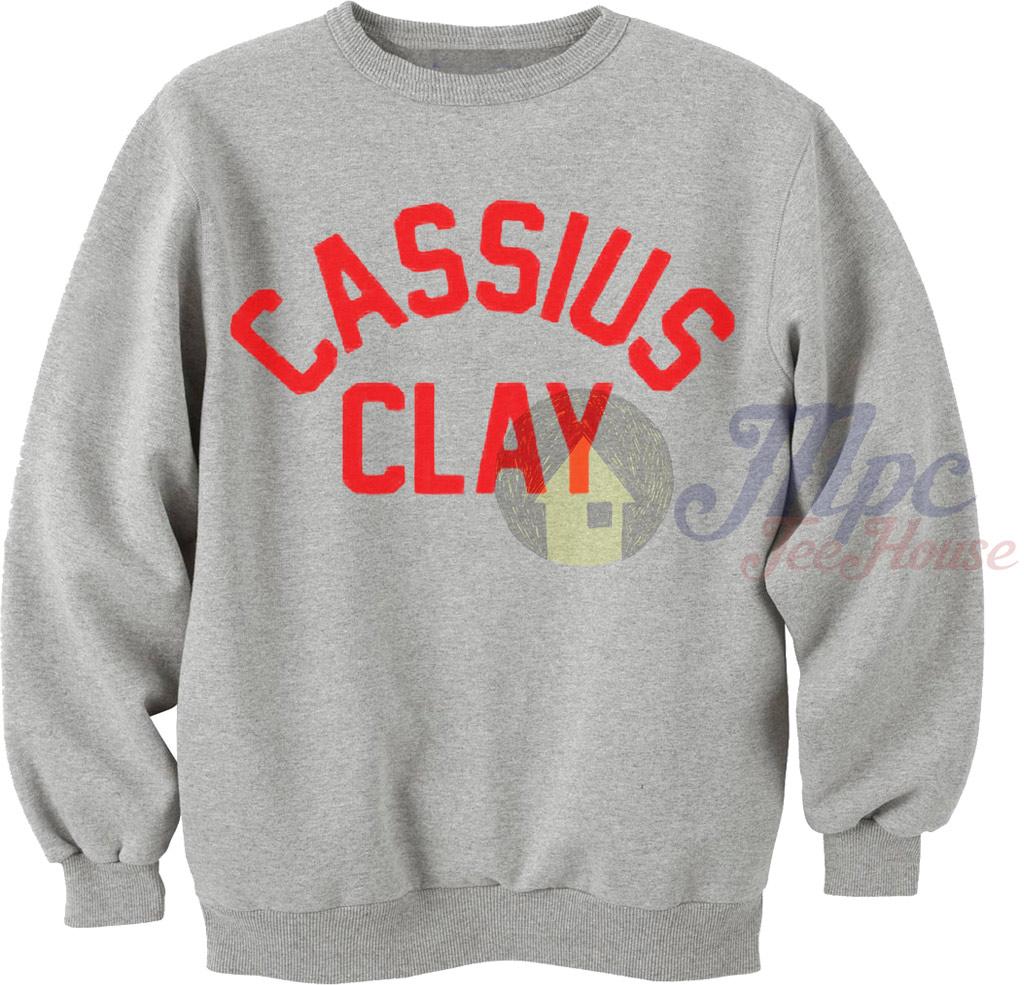 Cassius Clay Muhammad Ali Sweatshirt
