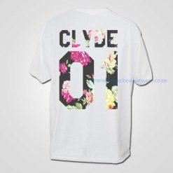 Clyde Vintage Floral 01 T Shirt