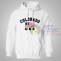 Colorado USA Pullover Hoodie