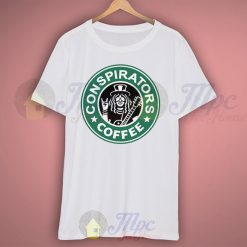 Conspirators Starbucks Coffee T Shirt