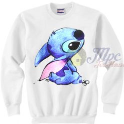 Cute Face Stitch Disney Character Sweatshirt