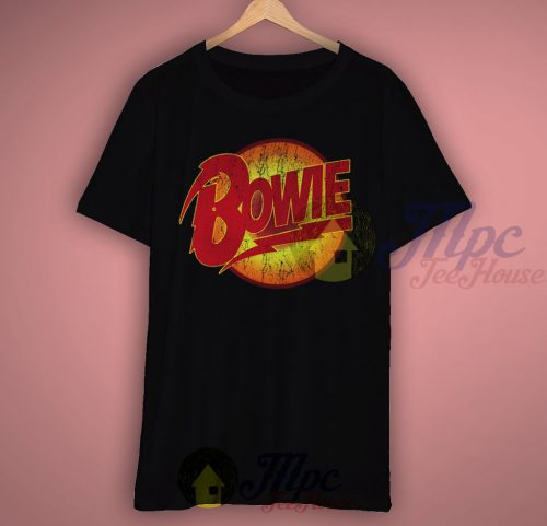 David Bowie Symbol Classic Black T Shirt
