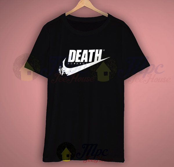 Death Girl Just Do It Japanese Cool T Shirt Mpcteehouse