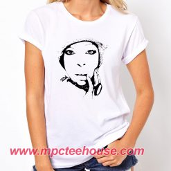 Erykah Badu Black White T Shirt