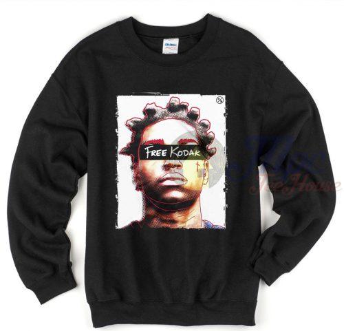 Free Kodak Sweatshirt Rapper Outfit