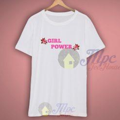 Girl Power Floral T Shirt