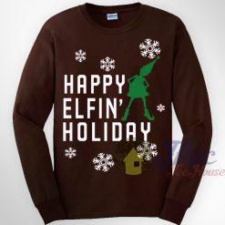 Happy Elfin Holiday Sweatshirt