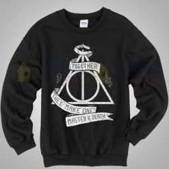 Harry Potter Deathly Hallows Quote Unisex Sweatshirt