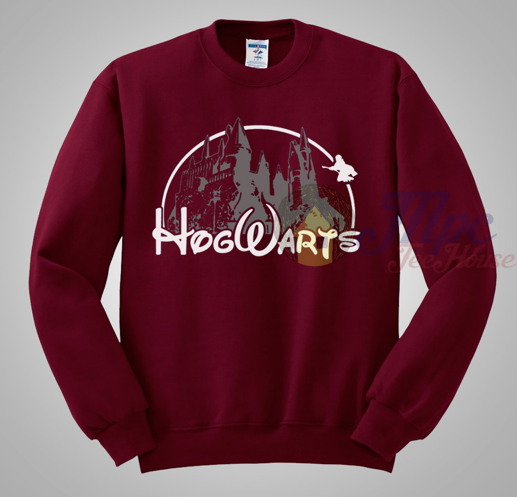 88ad8a553 Harry Potter Hogwarts disney Castle Sweatshirt - Mpcteehouse