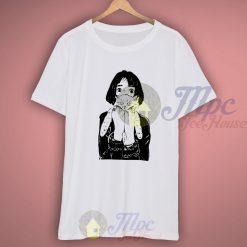 Hipster Girl Love Cat Tshirt