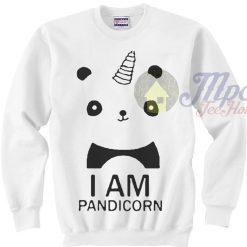 I Am Pandicorn Panda Unicorn Sweatshirt