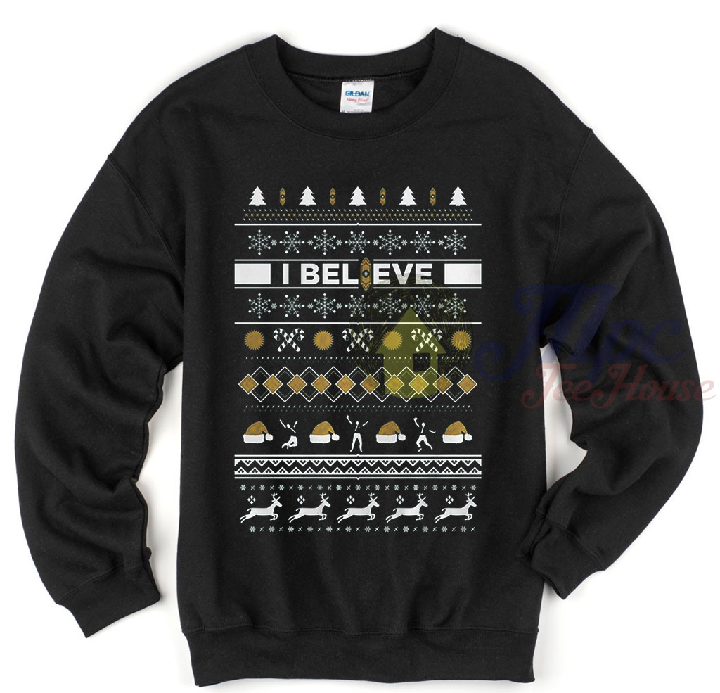 I Believe The Book Of Mormon Ugly Sweater - Mpcteehouse