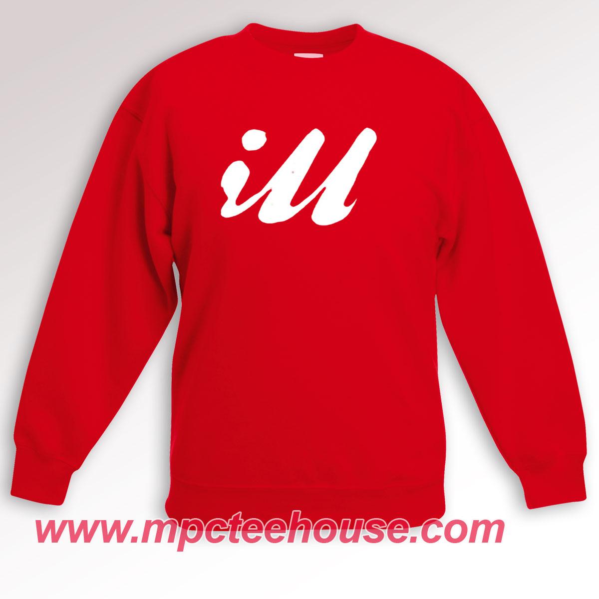 Iu Unisex Red Sweatshirt