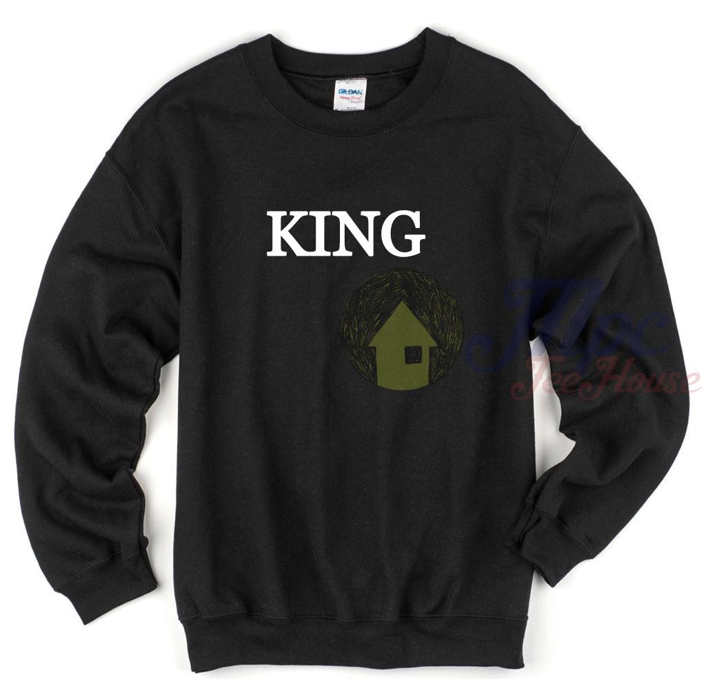 King Unisex Crewneck Sweatshirt