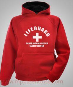 Life Guard Santa Monica Beach Hoodie