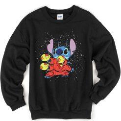 Lilo And Stitch Kungfu Style Sweatshirt