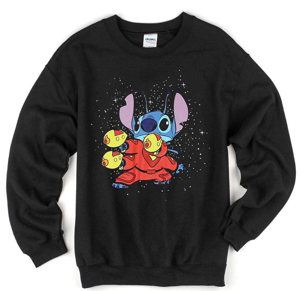 Lilo and stitch kungfu style sweatshirt mpcteehouse for Original stitch shirt review