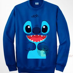Lilo Stitch Face Sweatshirt