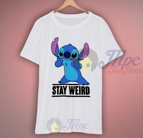 Lilo Stitch Stay Weird T Shirt