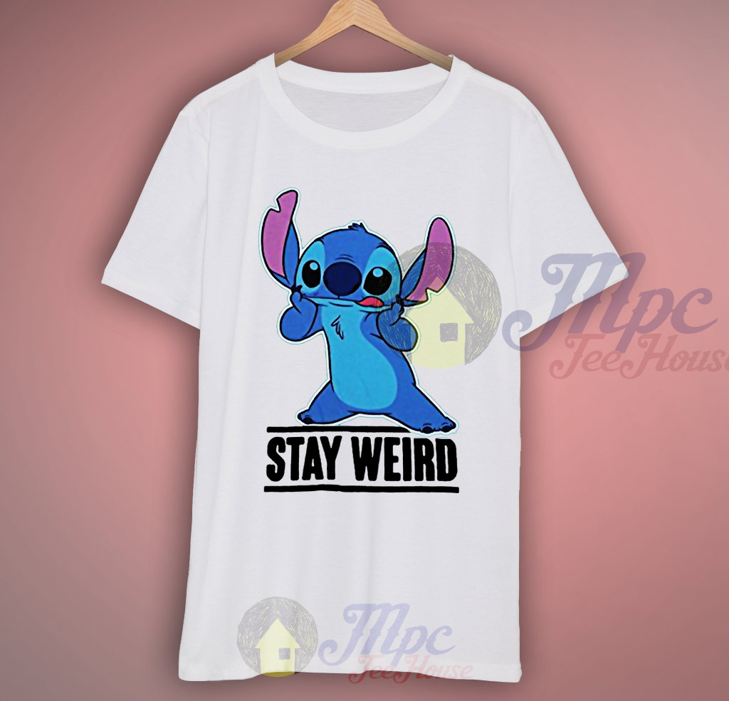 Lilo Stitch Stay Weird T Shirt