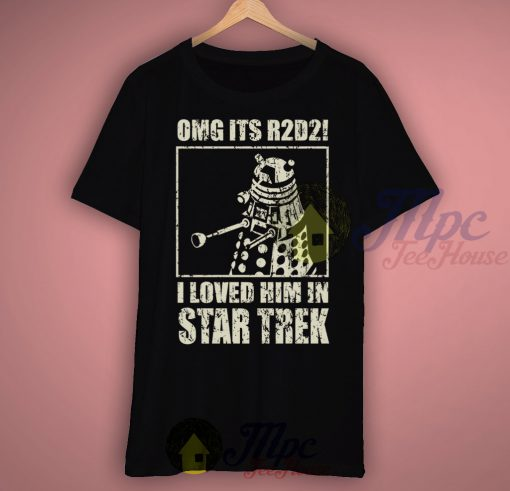 Love R2D2 In Star Trek Movie T Shirt