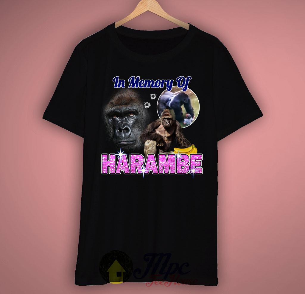 Memory Of Harambe T Shirt