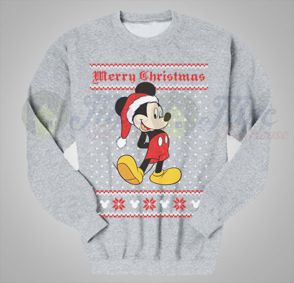 mickey mouse christmas ugly sweater - Mickey Mouse Christmas Sweater