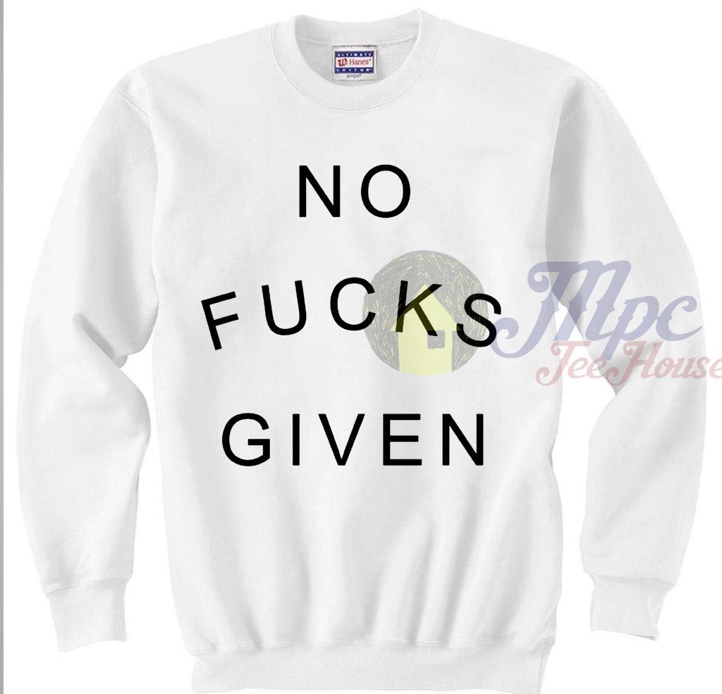 No Fucks Given Crewneck Sweatshirt