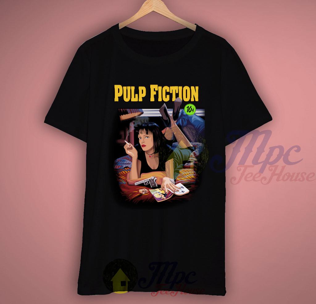 Pulp Fiction Girl T Shirt